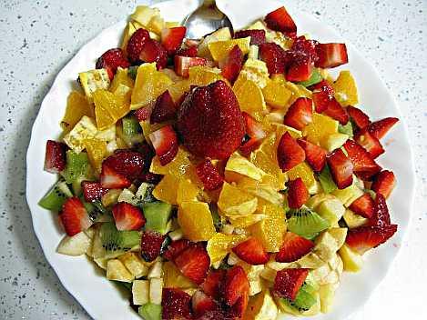Receta de macedonia de frutas: el mejor postre del mundo.