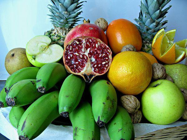 Frutas con proteínas: una batalla perdida antes de empezar.
