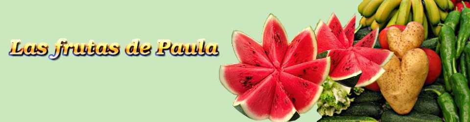 Las frutas de Paula
