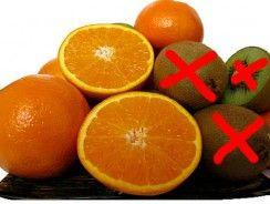 Frutas cítricas, zumo y vitamina c.