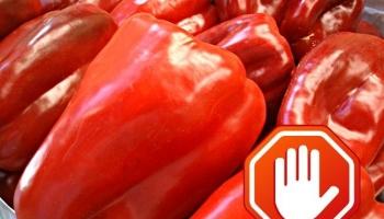 No metas el dedo en el pimiento rojo. Los 8 puntos imprescindibles para coger fruta en la tienda.